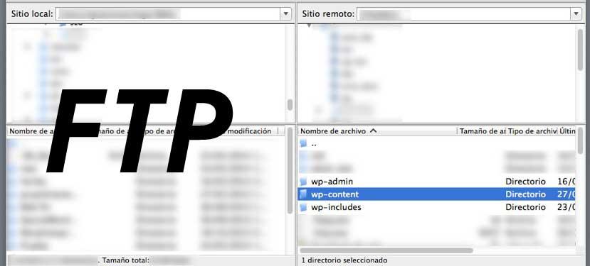 como actualizar wordpress subida archivos